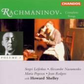 RACHMANINOV SERGEI  - CD SONGS VOL.3/H.SHELLEY-PIANO