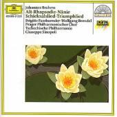 BRAHMS JOHANNES  - CD ALT RAPSODIE/NANIE/LIEDER