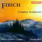 FIBICH ZDENEK  - 2xCD COMPLETE SYMPHONIES/DETROIT SO