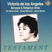 DE LOS ANGELES VICTORIA  - CD BAROCKE & GEISTL.ARIEN