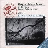 KINGS COLLEGE CHOIR  - CD NELSON MASS