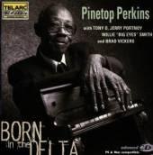 PERKINS PINETOP  - CD BORN IN THE DELTA