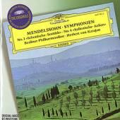 MENDELSSOHN BARTHOLDY FELIX  - CD SYMPHONIEN NO.3&4