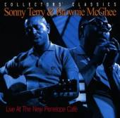 TERRY SONNY & BROWNIE MCGHEE  - CD LIVE AT THE NEW PENELOPE CAFE