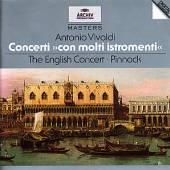 VIVALDI ANTONIO - PINNOCK TREV  - CD CONCERTI CON MOLT..