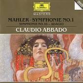 ABBADO CLAUDIO  - CD MAHLER:SYMPH.1 (MASTERS)