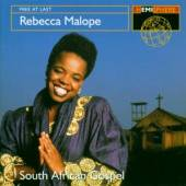 MALOPE REBECCA  - CD FREE AT LAST: SOUTH AFRIC
