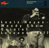 SHAW WOODY/LOUIS HAYES  - CD SWISS RADIO DAYS VOL.5