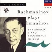 RACHMANINOV SERGEJ  - CD RACHMANINOV PLAYS RACHMANI