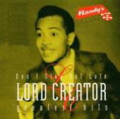 LORD CREATOR  - CD GREATEST HITS