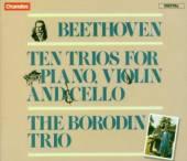 BEETHOVEN LUDWIG VAN  - 4xCD 10 PIANO TRIOS/BORODIN TRIO