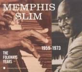 MEMPHIS SLIM  - CD FOLKWAYS YEARS 1959-1973