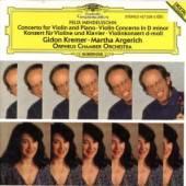 MENDELSSOHN BARTHOLDY FELIX  - CD CONCERTO FOR VIOLIN, PIAN