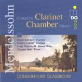 MENDELSSOHN BARTHOLDY FELIX  - CD COMPLETE CLARINET CHAMBER
