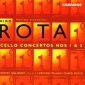 ROTA NINO  - CD CELLO CONCERTOS 1&2