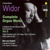 WIDOR C M  - CD COMPLETE ORGAN WORKS VOL.6