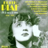 EDITH PIAF  - CD DE LA RUE A LA SCENE 1935 - 1937