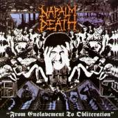 NAPALM DEATH  - CD FROM ENSLAVEMENT TO OBLITERATION
