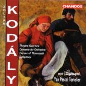 KODALY Z.  - CD SYMPHONY IN C/CONC.FOR OR