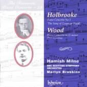 HOLBROOKE/WOOD  - CD PIANO CONCERTOS