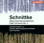 SCHNITTKE A.  - CD SOMMERNACHTSTRAUM CELLO C