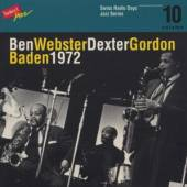 BEN WEBSTER / DEXTER GORDON  - CD SWISS RADIO DAYS ..