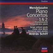 SCHIFF ANDRAS/DUTOIT CHARLES  - CD KLAVIERKONZERTE 1,2