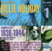HOLIDAY BILLIE  - CD COMPLETE 1936-1944 VOL.1