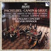 PACHELBEL / HANDEL / PINNOCK /..  - CD CANON / QUEEN SHEBA