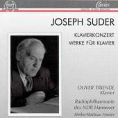 SUDER J  - CD PIANO CONCERT