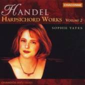 HANDEL G.F.  - CD HARPSICHORD WORKS VOL.2