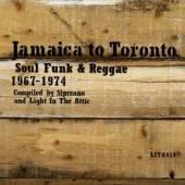 VARIOUS  - CD JAMAICA TO TORONTO 1967..
