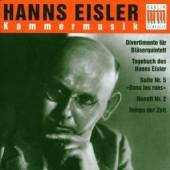 EISLER H.  - CD KAMMERMUSIK