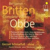 BRITTEN B.  - CD COMPLETE WORKS WITH OBOE