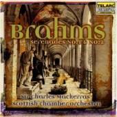 SCOTTISH CHAMBER ORC/MACKERRAS  - CD BRAHMS: SERENADE NO 1 & 2