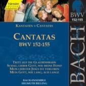 BACH JOHANN SEBASTIAN - RILLIN  - CD CANTATAS BWV 152-155