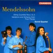 MENDELSSOHN FELIX - SORREL QUA  - CD QUARTETS