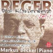 REGER M.  - CD KLAVIERWERK VOL.1
