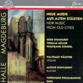 DOMHARDT/MUELLER/STENDEL  - CD NEW MUSIC FROM OLD CITIES