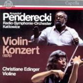 PENDERECKI K.  - CD VIOLINKONZERT
