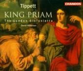 TIPPETT M  - 2xCD KING PRIAM/LOND..
