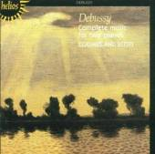 DEBUSSY C.  - CD COMPLETE MUSIC FOR 2 PIAN