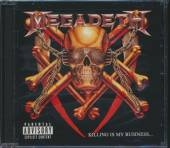 MEGADETH  - CD KILLING IS MY BUSINESS (RMX)