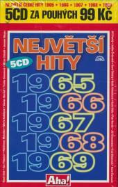VARIOUS  - 5xCD NEJVETSI HITY 1965 - 1969