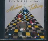 MODERN TALKING  - CD LET'S TALK ABOUT LOVE