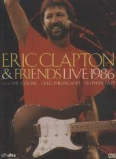 CLAPTON ERIC AND FRIENDS  - DVD ERIC CLAPTON AND FRIENDS LIVE 1986