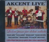 AKCENT LIVE  - CD LUDOVE PIESNE PRE DOBRU NALADU