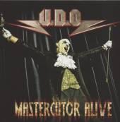UDO  - CD MASTERCUTOR ALIVE (2CD+DVD) LTD