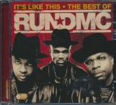 RUN D M C  - 2xCD IT'S LIKE THAT - THE BEST OF