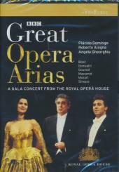 DOMINGO/ALAGNA/GEORGHIU  - DVD GREAT OPERA ARIAS